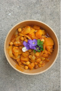 sweet potatoes ras-el-hanout stew
