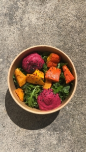 Beetroot Hummus Bowl