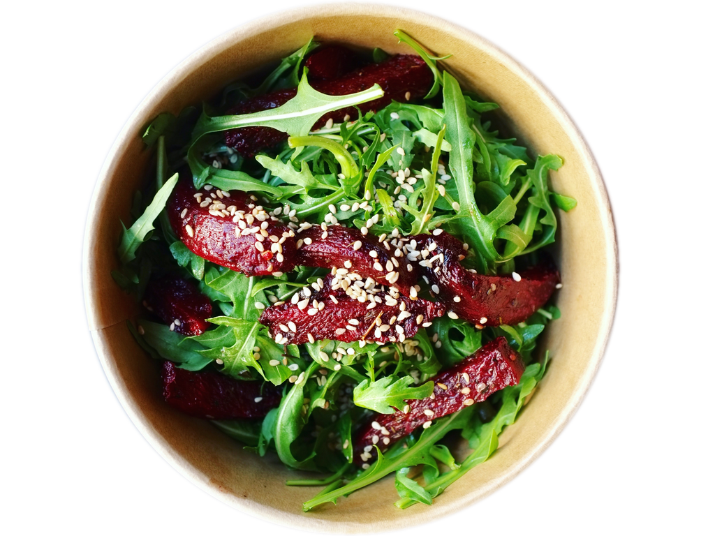 Beetroot rucola bowl