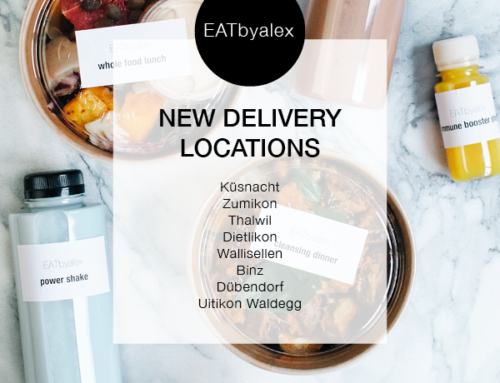 New Delivery Locations